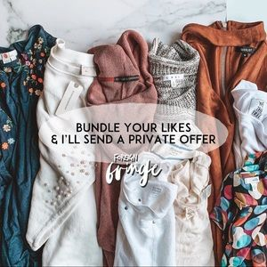 BUNDLE YOUR LIKES & ILL SEND A PRIVATE OFFER